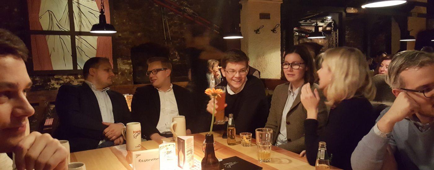 Weihnachtsfeier der JuLis & LHG Heidelberg